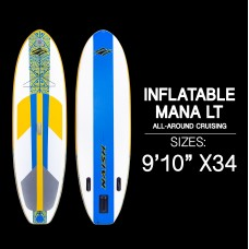 Mana 9'10 LT' - Inflatable SUP Board
